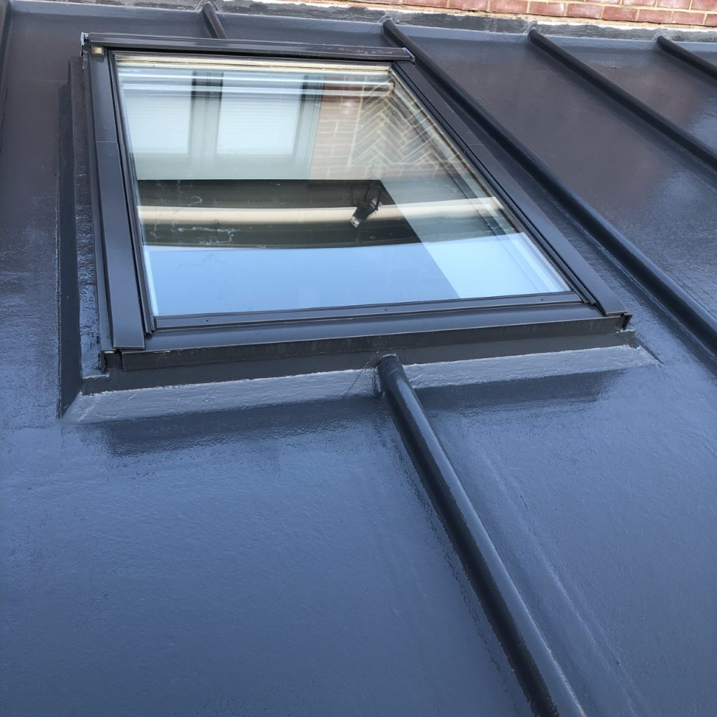 GRP Fibreglass Roof (After/Finished)