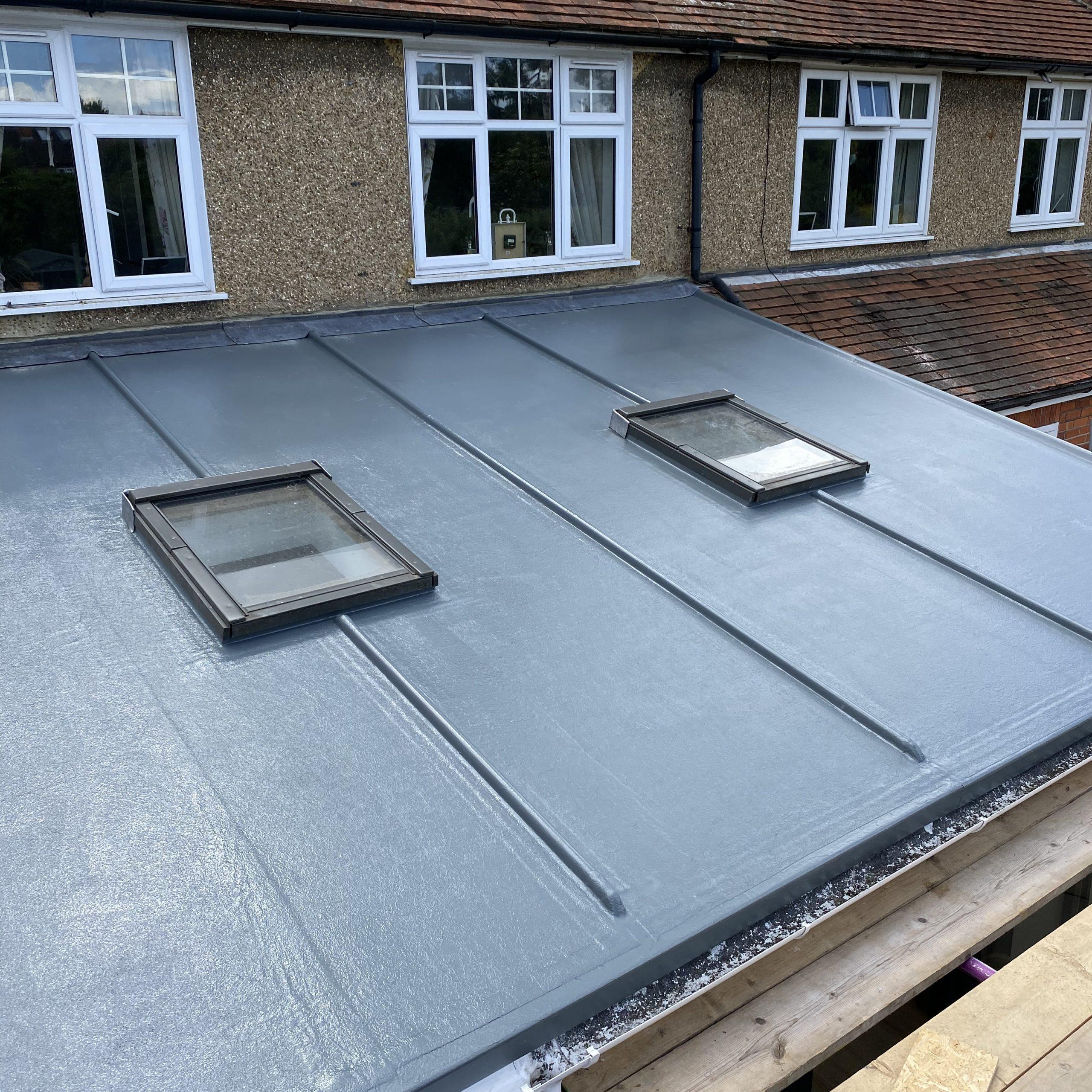 GRP Fibreglass Roof